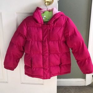Circo Pink Puffy Fleece Winter Coat 5
